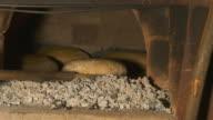 HD: Putting Bread In Brick Oven