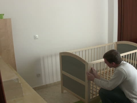 Putting together a crib