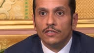 Qatar's Foreign Minister on Monday denounced the sanctions imposed against Doha by Saudi Arabia and its allies as unfair and illegal
