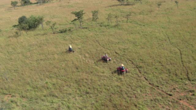 Quad Bikes on Safari in Africa