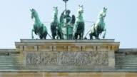 TU Quadriga On The Brandenburger Tor In Berlin