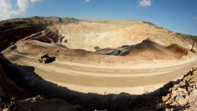 quarry for mining