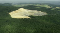 AERIAL ZI Quarry near Villligen, Aargau, Switzerland