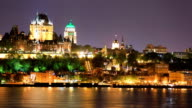 Skyline van de stad Quebec