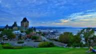 Quebec stad time-lapse
