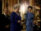Queen and Prince Philip Collection 4 T30110011 Princess Anne 50th Birthday Queen and Philip at party Queen speech Princess Anne speech