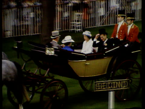 Queen and Prince Philip Collection 6 T16067105 Queen Philip in procession at Royal Ascot