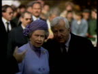 Queen and Prince Philip Collection 7 T21109205 211092 Royal visit to Berlin Berlin Queen Elizabeth II with German President Richard von Weizsacker...
