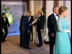 Queen and Prince Philip Collection 8 9015/05 The Queen attends a dinner for the G8 leaders at Gleneagles summit Gleneagles The Queen British PM Tony...