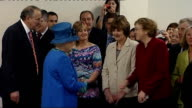 visit to Welshpool livestock market More of Queen meeting staff Close Shot of Prince Philip More of Queen and Philip meeting staff and guests Queen...