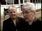 Queen and Prince Philip visit Aberfan ITN Queen meeting line of people associated with disaster including survivor Gaynor Madgwick Gaynor Madgwick...