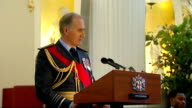 Queen attends Mansion House lunch with Iraq war veterans Sir Jock Stirrup speech SOT Many holders of telic medal are proud and grateful that you are...