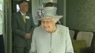 Queen Elizabeth II accompanied by Prince Philip Duke of Edinburgh this afternoon opened Priory View Church Street Dunstable Her Majesty escorted by...