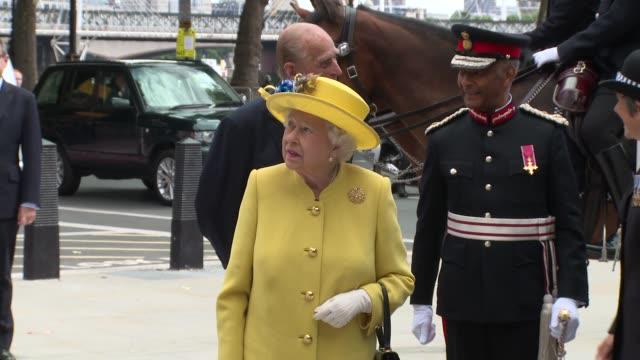 HRH Queen Elizabeth II The Duke of Edinburgh on July 13 2017 in London England