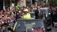 Queen Elizabeth II today celebrated her 90th birthday Royal fans and supporters lined the streets of Windsor to catch a glimpse of the Queen and...