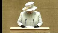 Queen Elizabeth II visits Lithuania / speech to parliament Lithuania has fresh and energetic spirit born out of your struggles and achievements to...