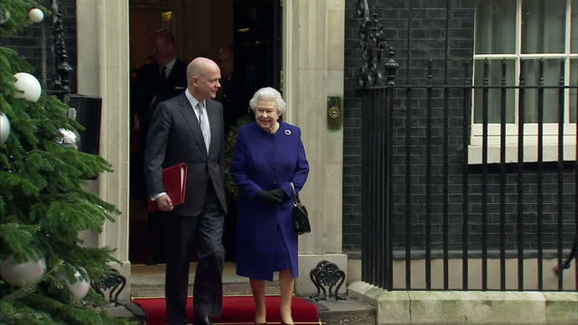 Queen Elizabeth sits in on Cabinet meeting at Downing Street on December 18 2012 in London England