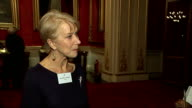Queen hosts reception for the Dramatic Arts at Buckingham Palace Dame Helen Mirren interview SOT / Cynthia Erivo interview SOT / Alan Rickman...