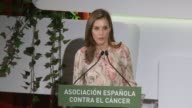Queen Letizia of Spain presides AECC event on research on Cancer International Day at Prado Museum on September 22 2017 in Madrid Spain