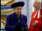 Queen no longer speaks Queen's English LIB Queen