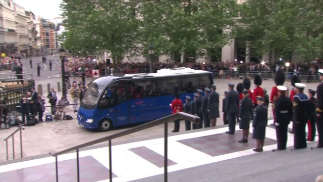 Queen's 90th birthday Service of National Thanksgiving arrivals at St Paul's cathedral ENGLAND London St Paul's Cathedral Sadiq Khan / Zara Phillips...
