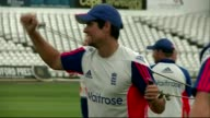 Queen's Birthday Honours ENGLAND EXT Alastair Cook in train with other cricket players