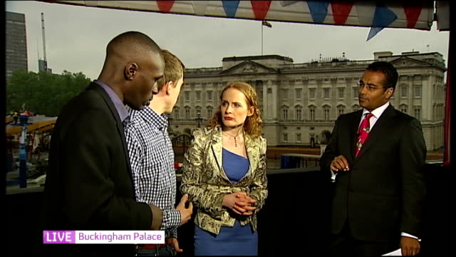 Queen's Diamond Jubilee Southampton cruise ships and fireworks Adebayo interview SOT Williams interview SOT Jones interview SOT