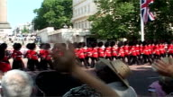 Queen's Guards Bear skins Animal rights campaigners demand fake fur be used instead of bearskin ENGLAND London Animal protestor dressed as bear...
