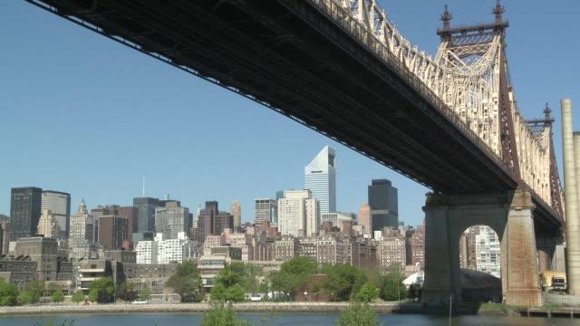 MS Queensboro bridge over roosevelt Island / New York, United States