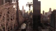Queensboro Bridge Tram View in New York City