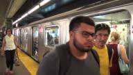 Queensboro Plaza, #7 Subway Platform, New York City