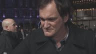 INTERVIEW Quentin Tarantino on the film being nominated at the Golden Globe Jennifer Jason Leigh being nominated making movies in genres and their...