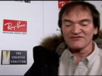 Quentin Tarantino on winning the award the importance of Sundance in his career and whether or not going to film school has helped or hindered his...