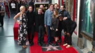 Quentin Tarantino Samuel L Jackson Zoe Bell Walton Goggins Tim Roth Jennifer Jason Leigh and Demian Bichir at Quentin Tarantino Honored with Star on...