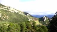 Queralt Mountain Range views
