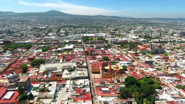 Queretaro Skyline Aerial view