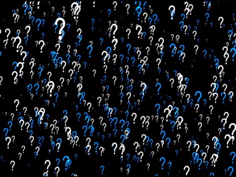 Question Mark Background Loop