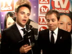 Arrivals and winners interviewed Ant Dec interview SOT Chuffed to still be winning awards on series 8 On having previous award taken from them /...