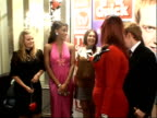 Arrivals and winners interviewed Members of Eastenders cast posing for photocall including Lacey Turner and Jake Wood