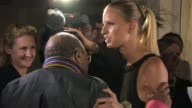 Quincy Jones Karolina Kurkova at de Grisogono Party 64th Cannes Film Festival on May 17 2011 in Antibes France