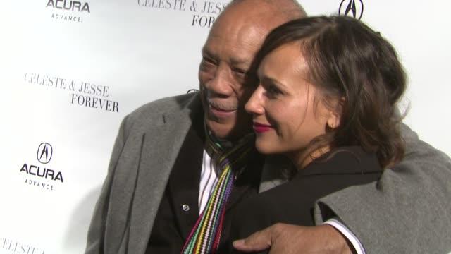 Quincy Jones Rashida Jones at Acura Hosts Celeste Jesse Forever Cast Dinner At The Acura Studio on 1/21/12 in Park City UT