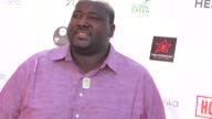 Quinton Aaron at the Stevie Wonder AIT's HoopLife Basketball Tournament at USC Galen Center in Los Angeles in Celebrity Sightings in Los Angeles