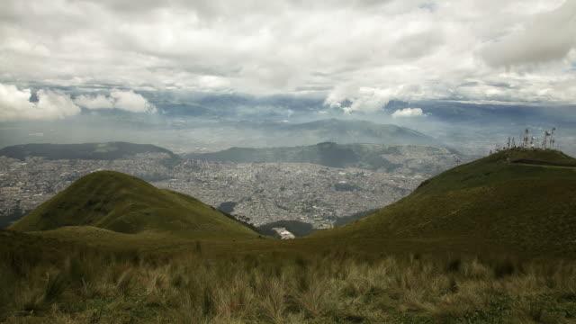 Quito timelapse. Ecuador