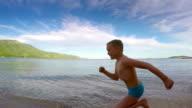 Race along the shore