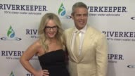 Rachael Harris and Andy Cohen at Riverkeeper's 50th Anniversary Fishermen's Ball at Pier Sixty at Chelsea Piers on May 18 2016 in New York City