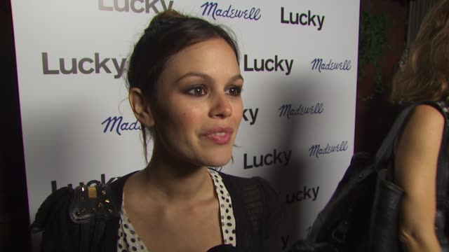 Rachel Bilson on what she's wearing what it was like being on their cover what Lucky Magazine does well what she loves about Madewell her favorite...