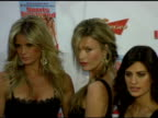Rachel Hunter Veronica Varekova Yamila DiazRahi Daniela Pestova and Elsa Benitez at the 2006 Sports Illustrated Swimsuit Issue Photocall at Crobar in...