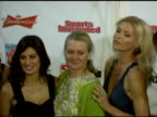 Rachel Hunter Veronica Varekova Yamila DiazRahi Diane Smith Sports Illustrated Swimsuit Editor Daniela Pestova and Elsa Benitez at the 2006 Sports...