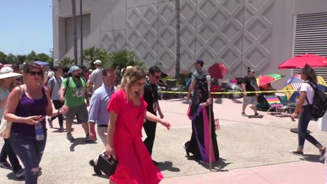 Rachel Keller at Celebrity Sightings at San Diego ComicCon International on July 21 2017 in San Diego California
