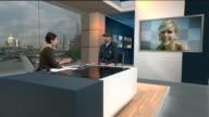 son Alex Hanscombe interview ENGLAND London GIR INT Alex Hanscombe STUDIO interview SOT